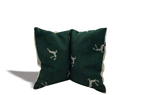 Das Gute aus dem Inntal Kirschkernkissen (grün, 18 x 26 cm)