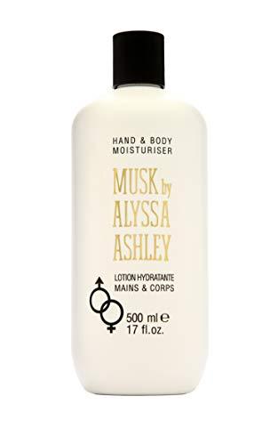 Alyssa Ashley 73703 Musk Hand und Body Lotion, 500 ml