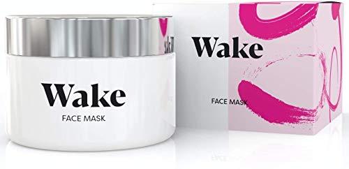 Wake Skincare Gesichtsmaske - rosa Ton Mitesser-Maske, tiefe Entgiftung zur Entgiftung, klare und...