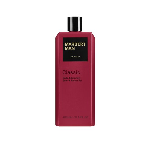 Marbert Man homme/ men Classic Bade- und Duschgel, 1er Pack (1 x 400 ml)