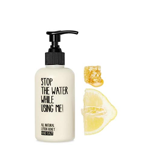 STOP THE WATER WHILE USING ME! All Natural Lemon Honey Hand Kit, natürliche Handcreme & Seife,...