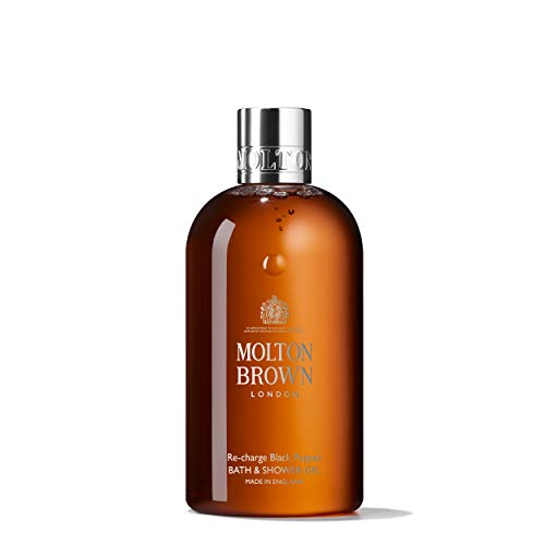 MOLTON BROWN Re-charge Black Pepper Bath & Shower Gel, 300 ml