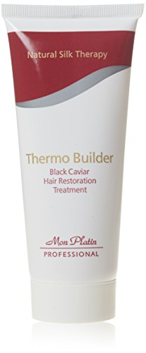 Mon Platin Professional 100ml Natural Silk Therapy Black Caviar Thermo Builder Hair Restoration...