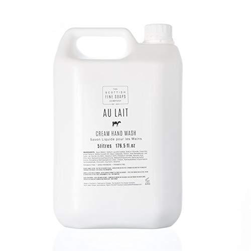 Scottish Fine Soaps Commercial 5L Bulk Au Lait Moisturising Hand Wash Refill