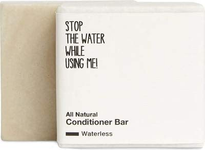 STOP THE WATER WHILE USING ME! All Natural Conditioner Bar (45g), feste Haarspülung ohne Zusätze,...