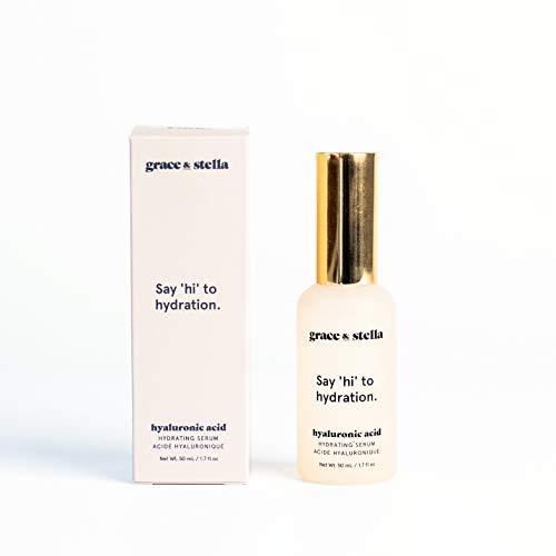 Hyaluronsäure Anti-Aging Gesichtsserum (50ml) Sofortige Feuchtigkeitsversorgung und Befeuchtung...