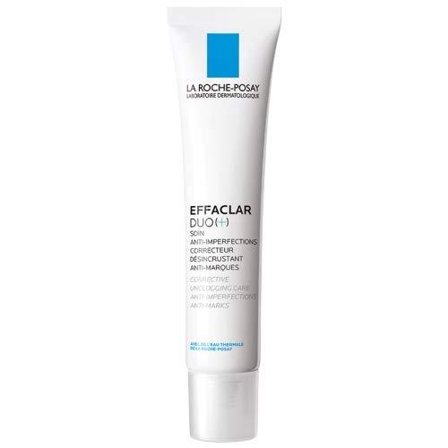 La Roche-Posay – Effaclar Duo (+) 40 ml Akne Pflege gegen Pickel und Unreinheiten – Skincare...