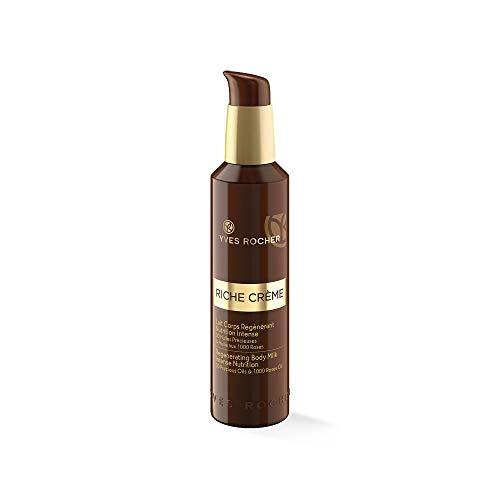 Yves Rocher RICHE CRÈME regenerierende Körpermilch, straffende Bodycreme, für reife Haut, 1 x...