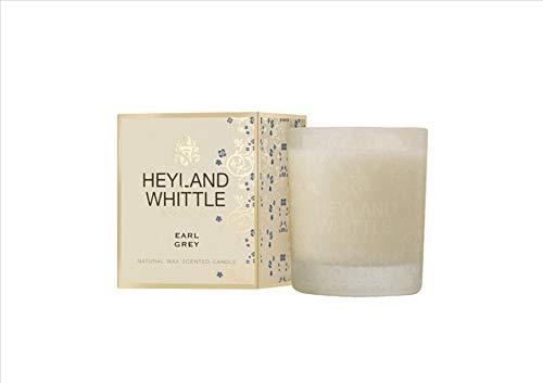 Heyland and Whittle - Goldfarbene klassische Kerze im Glas, Earl Grey, 230 g.