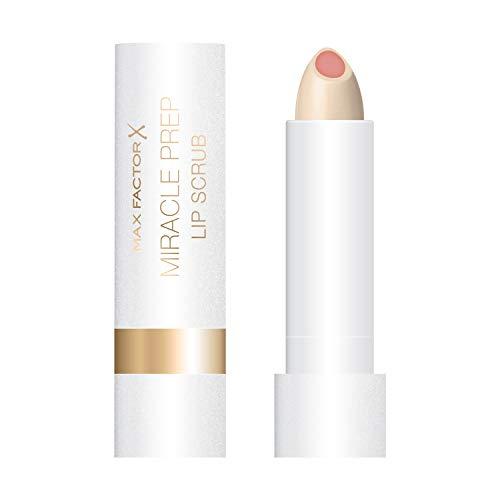 Max Factor Miracle Prep Lip Scrub für glatte Lippen mit feinem Zuckerpeeling, feuchtigkeitsspendend...
