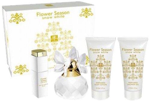 Jean-Pierre Sand Flower Season Snow White Geschenkset, 1er Pack (1 x 355 ml)