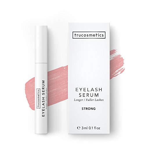 trucosmetics - EYELASH SERUM STRONG | hochkonzentriertes Wimpernserum | lange und dichte Wimpern | 3...