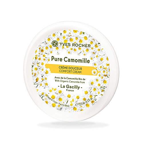 Yves Rocher PURE CALMILLE Pflegecreme Gesicht & Körper, Spendet Feuchtigkeit für Gesicht und...