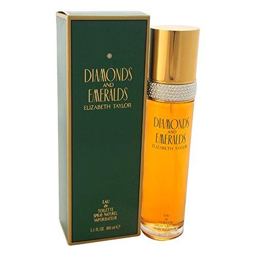 Elizabeth Taylor Diamonds and Emeralds Eau de Toilette Spray für Sie 100ml
