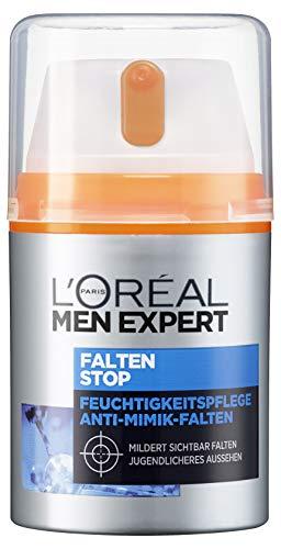 L'Oréal Men Expert Falten Stop Feuchtigkeitspflege, Gesichtscreme für Männer mit hochdosierter...