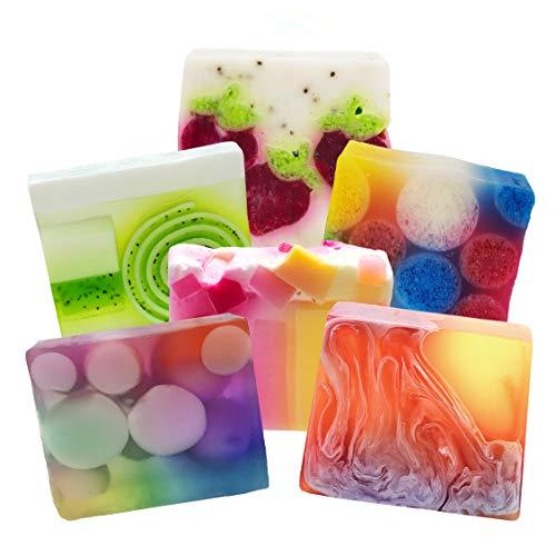 Bomb Cosmetics Fruit Punch Seifenscheiben-Set [enthält 6 Stück], 600 g [Inhalt kann variieren]