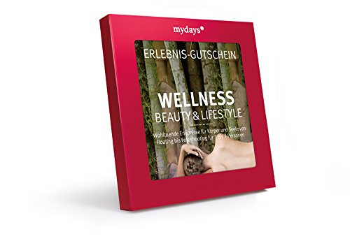 mydays Erlebnis-Gutschein 'Wellness, Beauty & Lifestyle' | 1 bis 2 Personen, 70 Erlebnisse, 520 Orte...