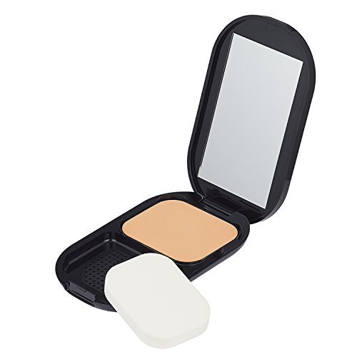 Max Factor Facefinity Compact Make-up Natural 003 – Puder Foundation für ein mattes Finish – 1...