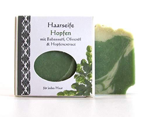 Haarseife mit Hopfenextrakt, Naturseife,Shampooseife 70g