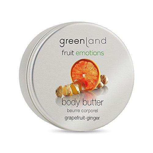 Greenland Body Butter Grapefruit Ingwer Duft| Tolle Alternative zu Bodylotion trockene Haut|...