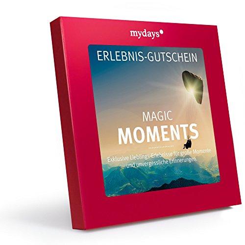 mydays Erlebnis-Gutschein Magic Moments, 1 bis 2 Personen, 75 Erlebnisse und Übernachtungen, 1055...