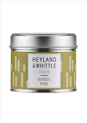 Heyland & Whittle London Nordic Pine Kerze in Dose, 180 g