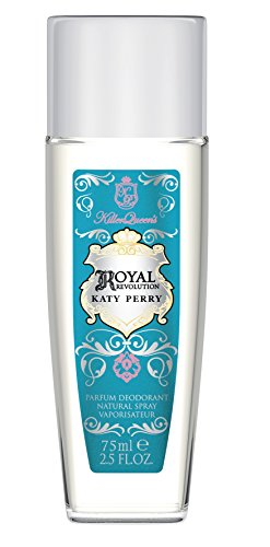 Katy Perry Royal Revolution Deo Natural Spray 75 ml, 1er Pack (1 x 75 ml)