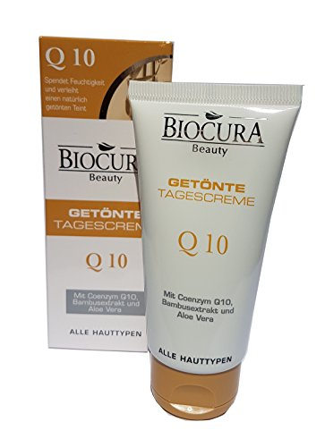 Biocura Beauty Getönte Tagescreme Q10 - 50 mL
