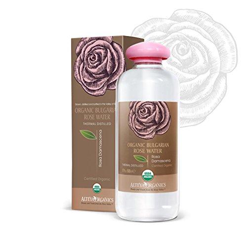 Alteya Bio Rosenwasser 500ml – 100% USDA Organic-zertifiziert GROSSE PACKUNG Rein Natürlich -...