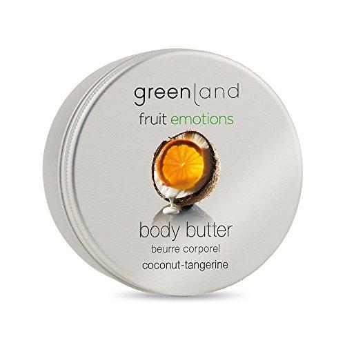 Greenland Body Butter Kokos Manderine | Verwöhnende Alternative zu Kokos Lotion, Bodylotion ohne...