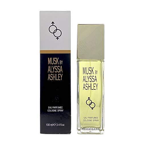 Alyssa Ashley Musk femme / woman, Eau de Cologne, 100 ml