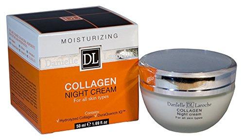 Danielle Laroche Collagen Night Cream 1.69 fl oz. by Danielle Laroche