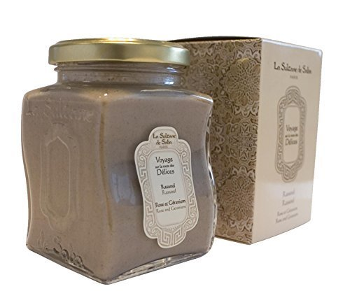 La Sultane De Saba Rassoul Mineral Clay Mask Face Body and Hair with Rose and Geranium by La Sultane...