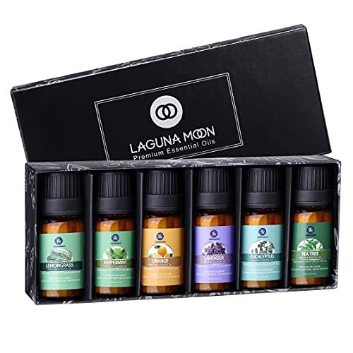 Lagunamoon Ätherische Öle Set, Duftöl Set für diffuser, Essential Oils für Aroma Luftbefeuchter...