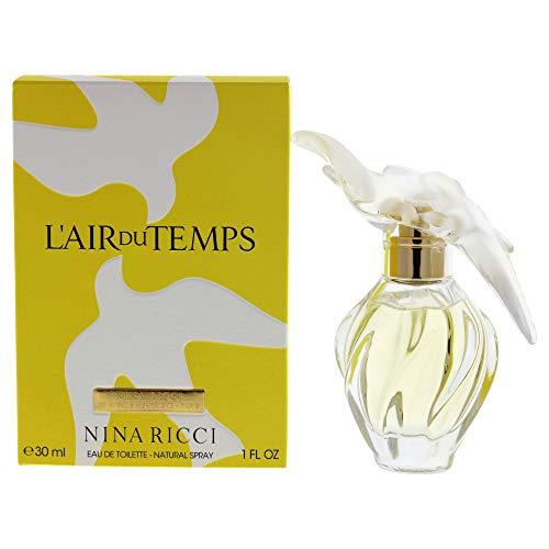 Nina Ricci L' Air du Temps femme / woman, Eau de Toilette, Vaporisateur / Spray 30 ml, Glasflasche,...
