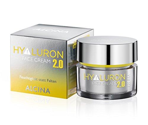 ALCINA Hyaluron 2.0 Face Cream 1 x 50 ml - Gesichtscreme mit Hyaluronsäure