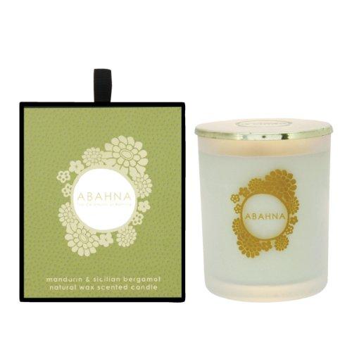 Abahna Mandarin & Sicilian Bergamot Scented Candle 180 g 1er Pack(1 x 180 g)