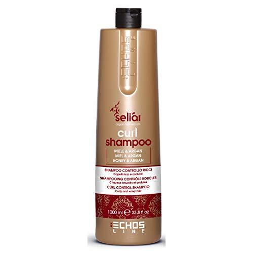 Curl Shampoo Control with Honey and Argan Oil 1000ml seliar® Shampoo Kontrolle Locken mit Honig...