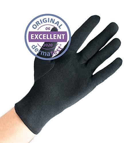 Dermatest: Sehr Gut - Well B4® Care Baumwollhandschuhe, Zwirnhandschuhe aus 100% Baumwolle, Weiche...