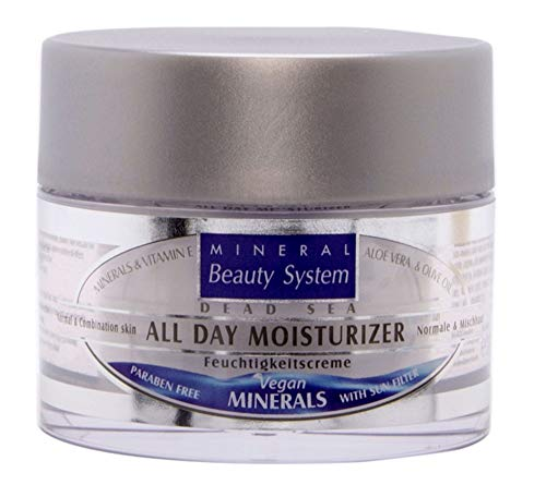 Totes Meer Mineral Tages Feuchtigkeitscreme, 50 ml - 100% Original by Mineral Beauty System -...