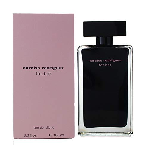 Narciso Rodriguez For Her femme/woman, Eau de Toilette, Vaporisateur/Spray 100 ml, 1er Pack (1 x 100...