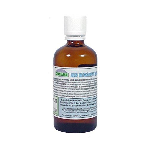 CHIANTASAN ätherische Kräuteröl-Mischung - 50ml Flasche (Dr. M. Grubel Destillat), mit...