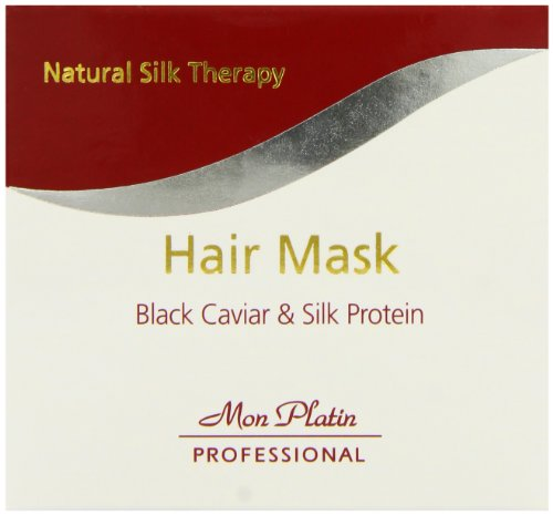 Mon Platin Professional 500ml Natural Silk Therapy Black Caviar and Silk Protein Hair Mask