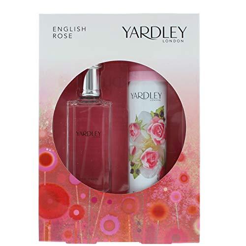 Yardley Englisch Rose 50 ml Eau de Toilette + 75 ml Körperspray