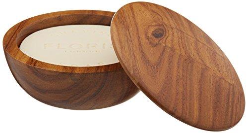 Floris London No. 89Rasierseife in einer Holzschale 100g