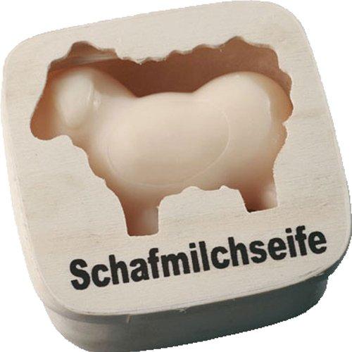Saling Schafsmilchseife weißes Schaf 85 g in Geschenkschachtel