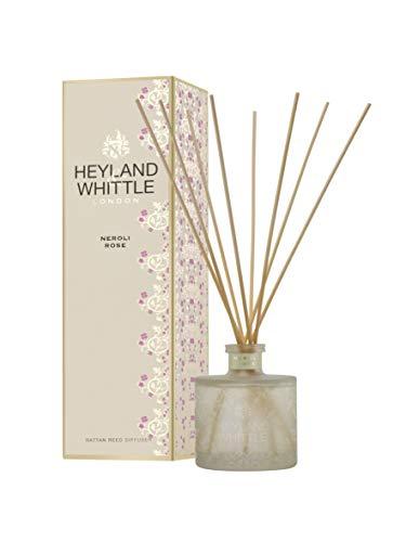 Heyland & Whittle - Gold Classic Neroli Rose Schilfrohr-Diffusor, 200 ml, Glas Gold & Creme