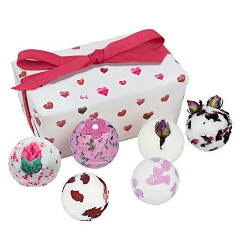 Bomb Cosmetics Little Box of Love Ballotin, Geschenkset, 6 Stück