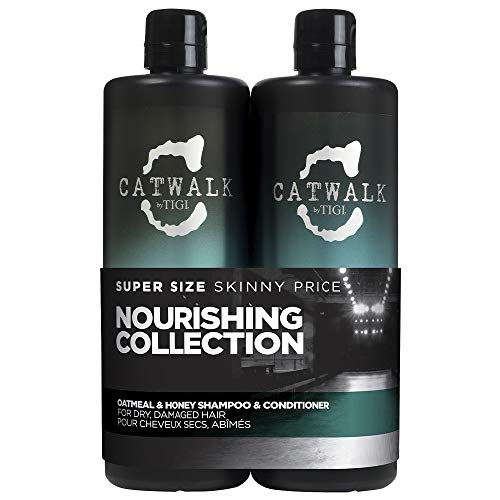 Tigi CATWALK Tween Duo Shampoo and Conditioner Oatmeal und Honey, 1er Pack (1 x 1500 ml)