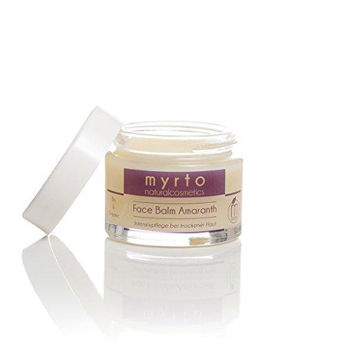 myrto – Bio Face Balm Amaranth - reichhaltiger Feuchtigkeitsbalsam - ohne Duftstoffe ohne Alkohol...